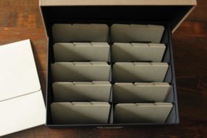 Large Archival Boxes -Holds approx 2400 4x6 or 5x7 photos,10 compartments and 60 dividers, Dimensions 13.5 x 16 x 6