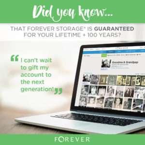 Forever Storage Guarantee